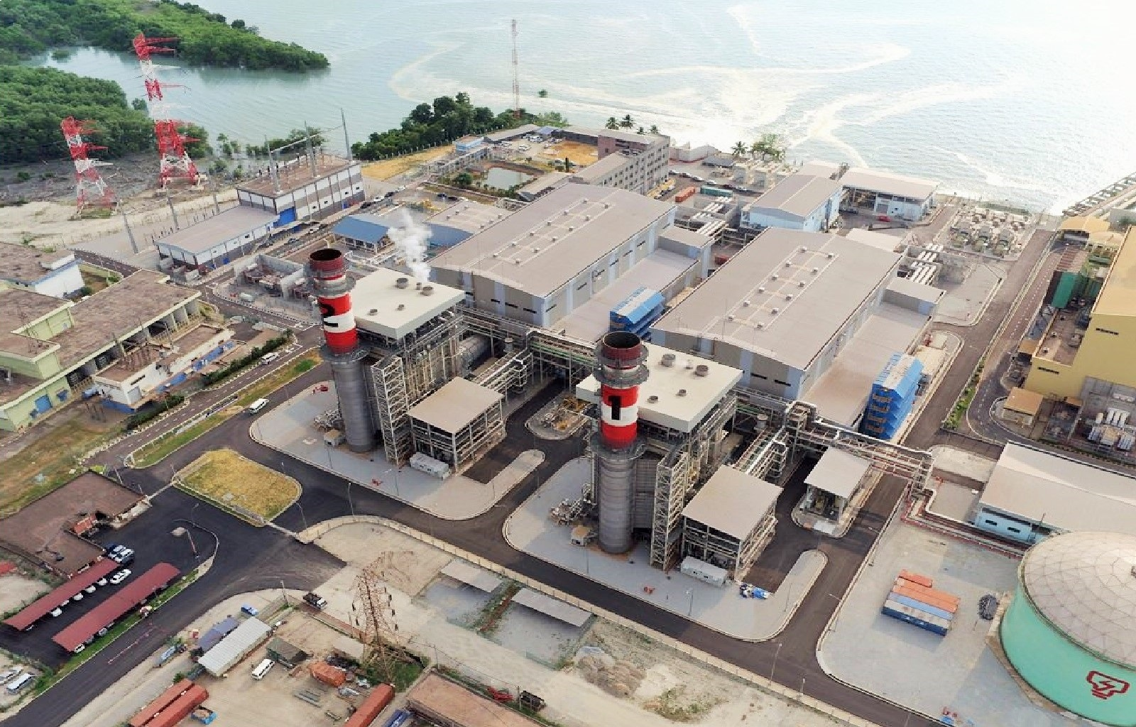 Prai CCGT Power Plant Intake and Outfall Construction Complete