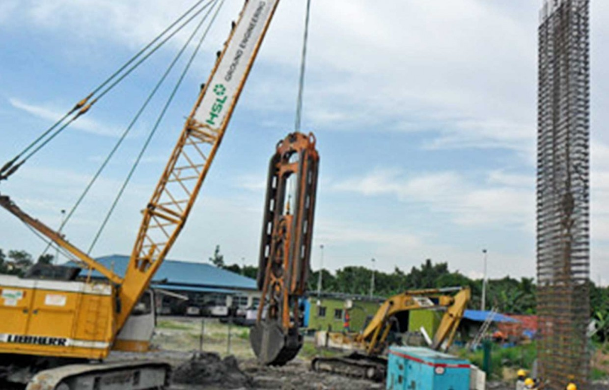 Waste Water Plant Construction in Kuching City Central