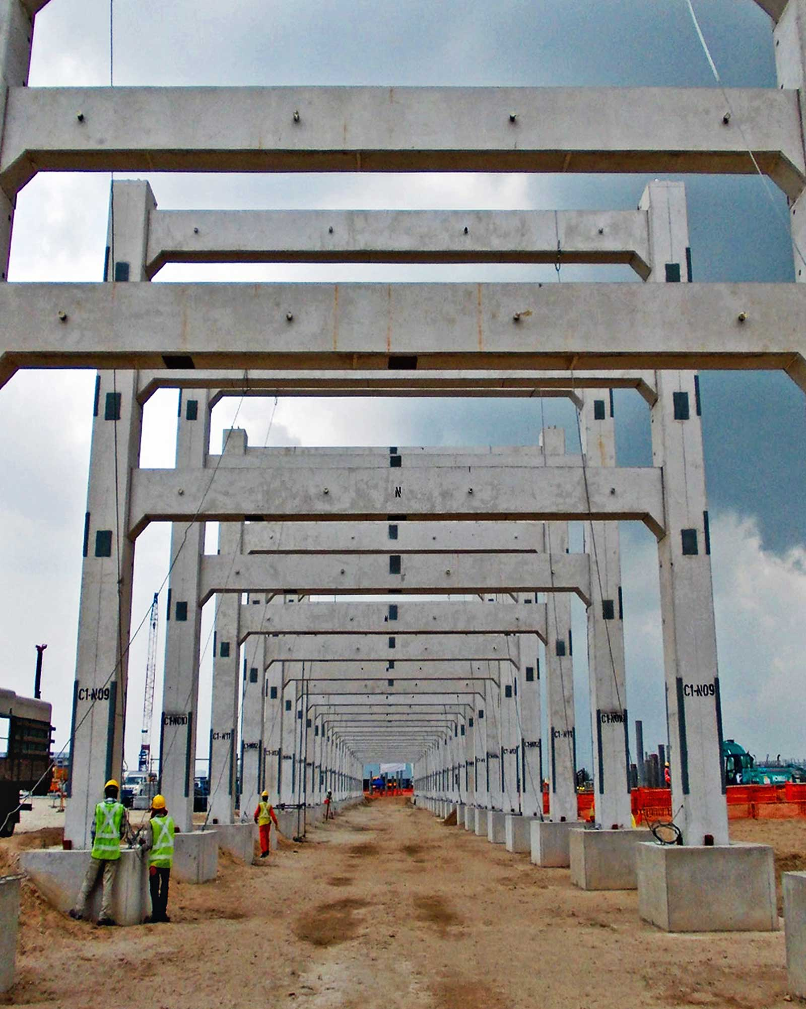 Civil Works for Jurong Aromatics Corporation - HSL Constructor Pte Ltd