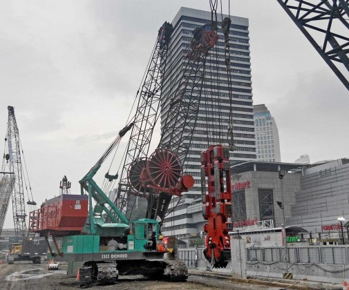 Construction of underground MRT stations Central Jakarta - Slider 1