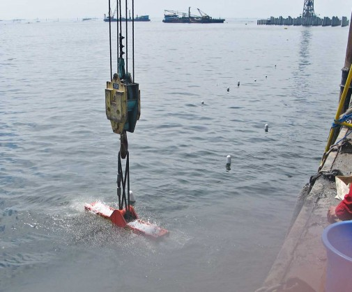 Removal of Existing Breakwater - Slider 1