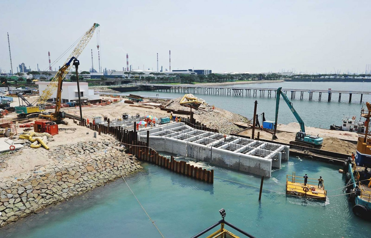 Water Quality Structures : Src seawater intake hsl constructor