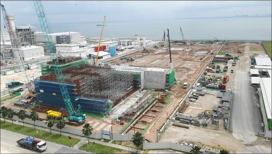 Tuas Desalination Plant 3 phase 1
